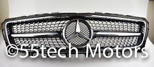 MERCEDES CLS550 W218 CLS GRILLE GRILL Diamond 2009 ~2014 CLS500 Black AMG