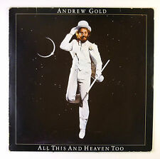 """12"""" LP - Andrew Gold - All This And Heaven Too - C2075 - washed & cleaned"""