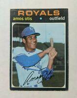 1971 Topps Amos Otis Baseball Card #610 - Kansas City Royals