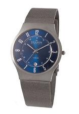 Skagen Armbanduhren aus Edelstahl mit Mineralglas-Funktion