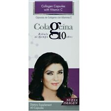 1 BOTTLE COLAGEINA 10 CAPS, Colageina10.Colageno hidrolizado,collagen,