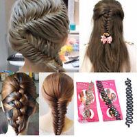 Fashion Hair Braiding Tool Roller With Hook Magic Hair Twist Styling Bun Maker