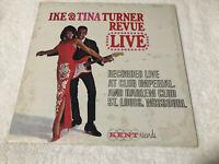 LP IKE & TINA TURNER Revue Live 1ST PRESSING ALBUM (NM)