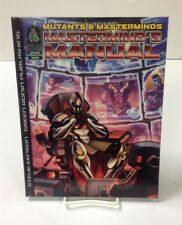 Mutants & Masterminds Superhero RPG: Mastermind's Manual HC Rules Supplement