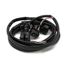 Interruttore Set LED Rubinetti a leva Nero (f). Harley-Davidson Softail & Dyna