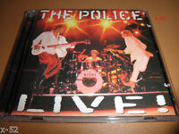 THE POLICE sting band LIVE cd ROXANNE king of pain EVERY BREATH YOU TAKE de do