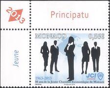 Monaco 2013 Junior Chamber of Commerce 50th/Business/Commerce/People 1v (mc1144)