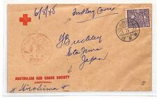 BH106 1948 Japon FDC Australian red cross society