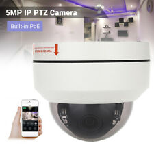 5MP HD 1080P POE IP PTZ Camera Onvif 5x Zoom Network IR Night Vsion Security Cam