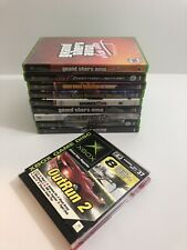 Original XBOX Lot Of 13 Games Tested Sold As Is Grand Theft Auto, Xmen, 007