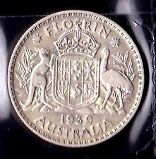 Australia 1939 Florin gVF