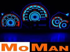 FORD FIESTA plasmascheiben dials plasma cluster white face glow gauges Mk3 Mk4