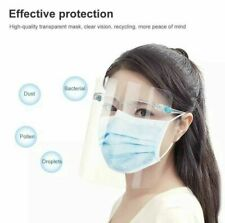10 Complete Sets Face Shield Glasses Protector Spray Prevention Safe Face Mask
