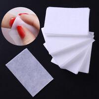 1000Pcs White Nail Polish Remover Cotton Lint-Free Nail Art Clean Wipes Pads