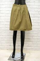 Gonna Donna GANT Taglia Size 40 Pants Shorts Skirt Woman Cotone Vita Alta Corto