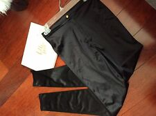 Shiny black Skinny fitted jeans size S Good condition