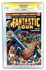 FANTASTIC FOUR #139 CGC 7.0 SS SIGNED GERRY CONWAY 1973 MIRACLE MAN VS THING