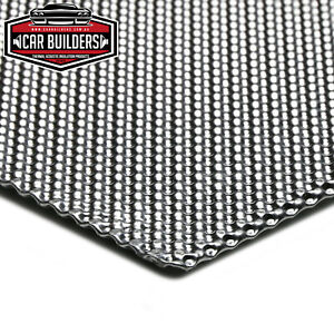 EMBOSSED ALUMINIUM Exhaust Heat Shield Multi Layer Quality by Car Builders