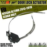 Cheriezing 82500-3TA0A Door Lock Actuator Rear Right Passenger Side for 2013-2018 Altima