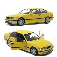 Solido 1/18 BMW M3 Coupe (E36) 1994 Modèle de Voiture - Jaune Dakar (S1803902)