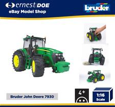 Bruder John Deere 7930 Tractor Niños modelo agrícola cultivo de juguete para niños escala 1:16