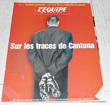 EQUIPE MAGAZINE N°829 1998 CANTONA MANCHESTER ELVSTRÖM NAGANO HOCKEY VIRENQUE
