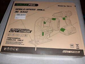 20v Cordless Drill/Jigsaw set Combo New In Box..still in plastic