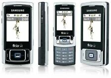 SILVER FIDO SAMSUNG SGH-F266 SLIDER MOBILE CELL PHONE CELLULAR GSM POCKET SMALL