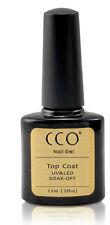 CCO UV LED NAIL GEL POLISH VARNISH  SOAK OFF TOP COAT  Any Brand UV Nail Colours