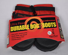 Ultra Paws Rugged Dog Boots XL Red & Black