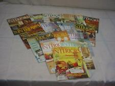 "Lot of 15 ""Old-House Interiors""  Magazines for DIY Remodeling Renovation F196"