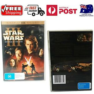 Star Wars - Episode III - Revenge Of The Sith 2 Disc Special Edition Free Post