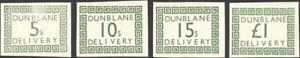 GREAT BRITAIN, 1971. British Postal Strike, Dunblane Delivery (4)