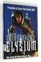 DVD ELYSIUM Medusa 2003 Fantascienza Animazione 3D