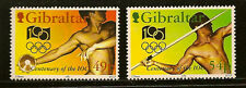 GIBRALTAR : 1994 Olympics Centenary SG 730-1 unmounted mint