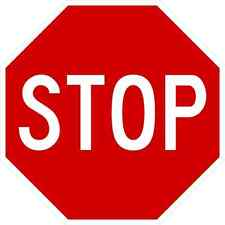 "STOP SIGN 24"", ALUMINUM, REFLECTIVE (R1-1)"