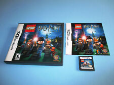 Lego Harry Potter Years 1-4 Nintendo DS Lite DSi XL 3DS 2DS w/Case & Manual