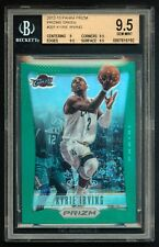 2012-13 KYRIE IRVING PRIZM GREEN REFRACTOR BGS 9.5 - IMPOSSIBLE TO FIND IN GREEN