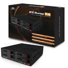 """Vantec MRK-425ST-BK EZ Swap 4 Bay 2.5"""" SATA SSD/HDD Removable Rack"""