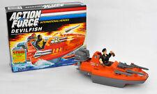 Vintage Action Force Gi Joe DEVILFISH 1986-Coffret,