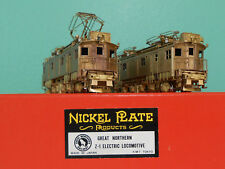 Nickel Plate/KMT - HO Scale Brass - Great Northern Z-1 Electric Locomotives