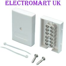 BT TELEPHONE ALARM CABLE JUNCTION BOX EASY FIT SCREW TERMINALS