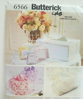 UNCUT BUTTERICK # 6566 WEDDING ACCESSORIES  CRAFT  SEWING PATTERN MAKE IT YOURS