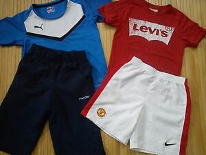 23x SUMMER NEXT LEVIS NIKE PUMA NEW USED BUNDLE OUTFITS BOY CLOTHES 7/8 YRS (3)