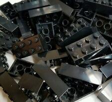 100 New Lego 2x4 black Bricks Part 3001 Builders Club Star Wars Friends City