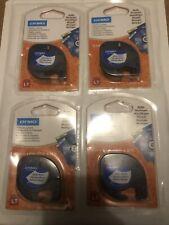 Dymo 12mm LetraTag Plastic Tape Ruban D'étiquette (s0721610)