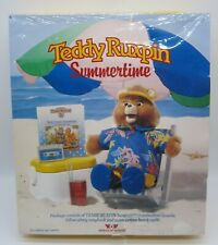 Teddy Ruxpin Summertime Outfit Book Cassette Tape Worlds of Wonder Sealed New