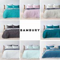Bambury 2019 Summer Coverlet Range Botanica| Paisley Ranges 8 Colours All Sizes
