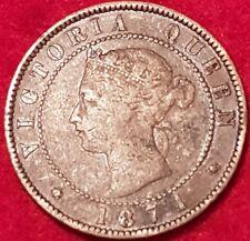 1871 Prince Edward Island Penny  ID #86-37