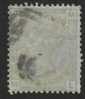 SG153. 4d.Sage Green Plate 15. Fine Used. Scarce Stamp.  Cat.£325. Ref.08170